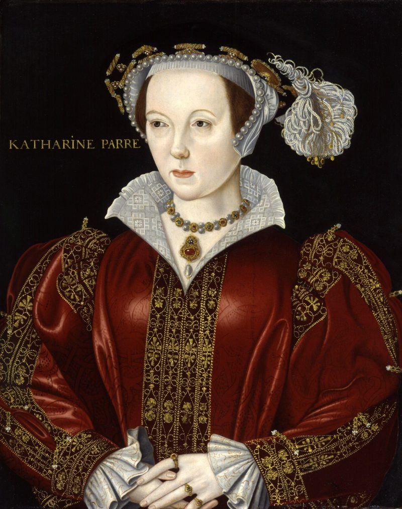 Portrait of Henry VIII Wife Catherine Parr