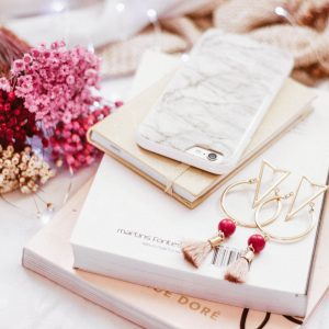 A Flat Lay with Dressing Table Essentials