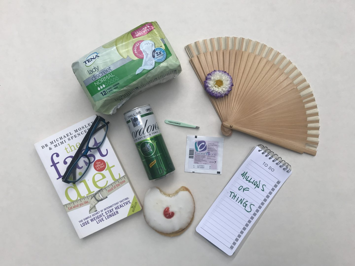 The Midlife Flat Lay