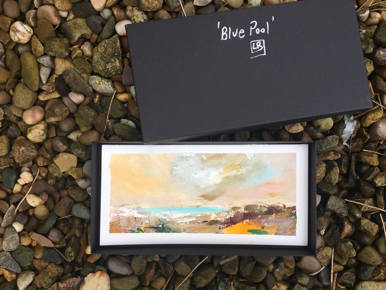 Mini painting by Lesley Birch