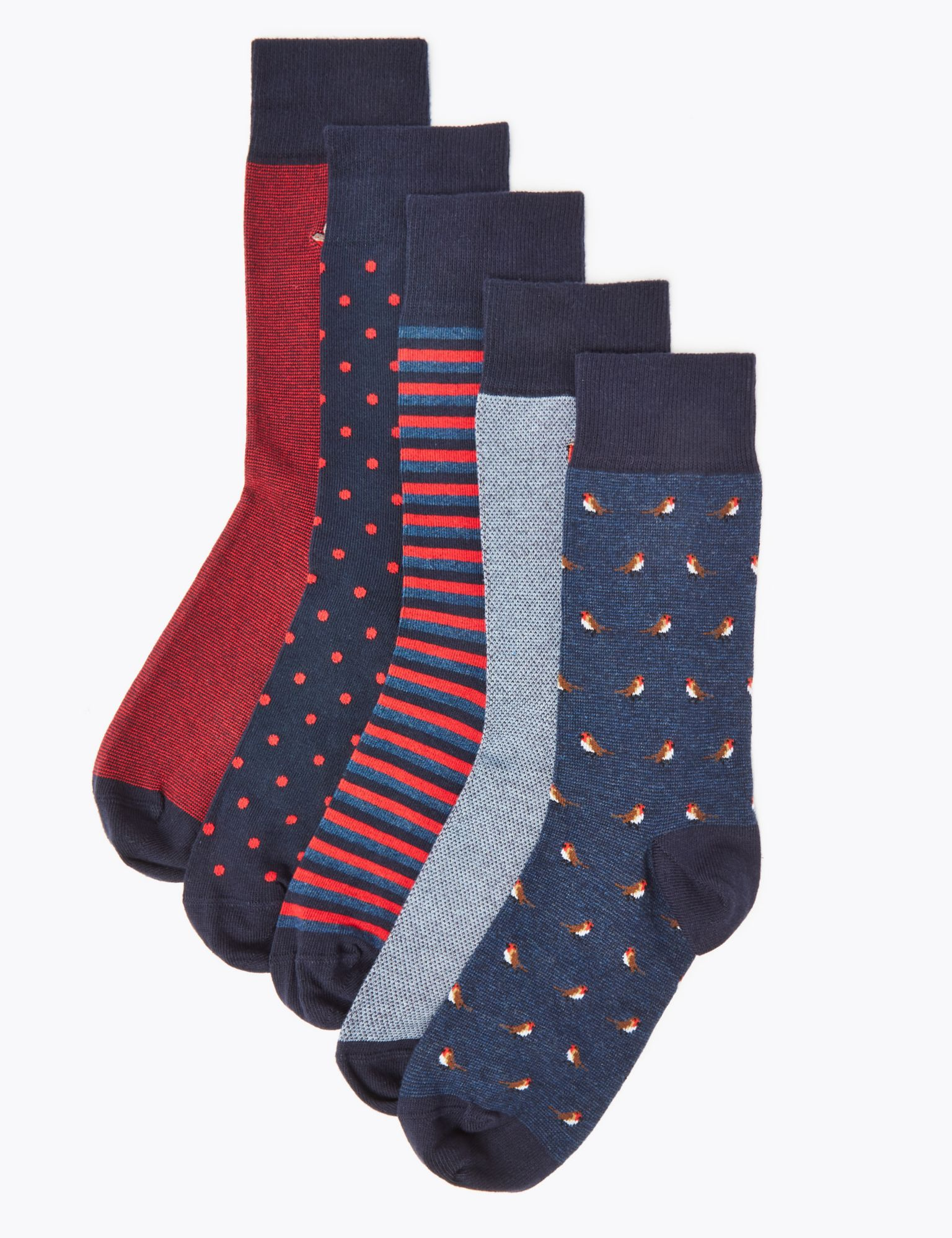 5 Pairs of Marks and Spencer Socks